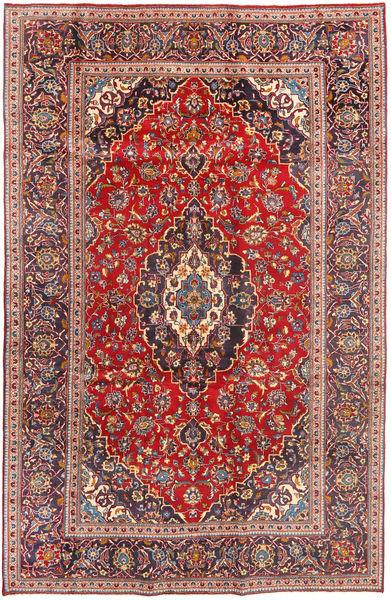 Keshan Matto 196X307 Itämainen Käsinsolmittu Ruoste/Tummanpunainen (Villa, Persia/Iran)