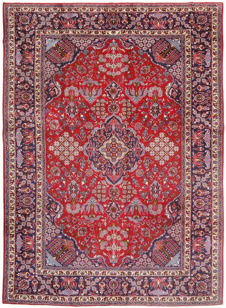 ジョーサガン 絨毯 278X388 オリエンタル 手織り 濃い紫/赤 大きな (ウール, ペルシャ/イラン)
