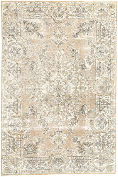 Colored Vintage Rug 170X257 Authentic  Modern Handknotted Light Grey/Beige (Wool, Persia/Iran)