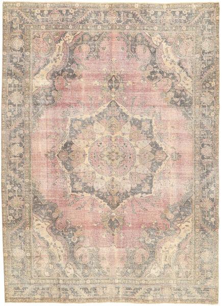 Colored Vintage Dywan 243X330 Nowoczesny Tkany Ręcznie Jasnoszary/Ciemnobrązowy (Wełna, Persja/Iran)