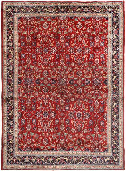 マシュハド 絨毯 285X390 オリエンタル 手織り 茶/深紅色の 大きな (ウール, ペルシャ/イラン)