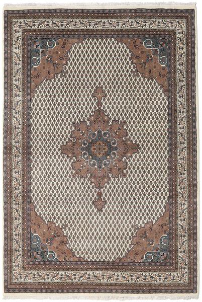 Mir Indo Rug 166X230 Authentic  Oriental Handknotted Light Brown/Dark Brown (Wool, India)