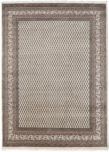 Mir Indo Rug 175X240 Authentic  Oriental Handknotted Light Brown/Dark Grey (Wool, India)