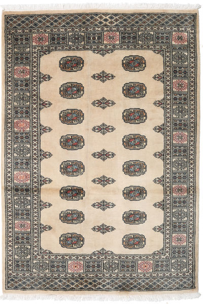 Pakistan Bokhara 2Ply Rug 126X185 Authentic  Oriental Handknotted Dark Grey/Light Brown (Wool, Pakistan)