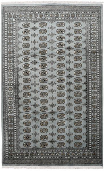 Pakistan Bokhara 2Ply Rug 198X315 Authentic  Oriental Handknotted Dark Grey/Light Grey (Wool, Pakistan)