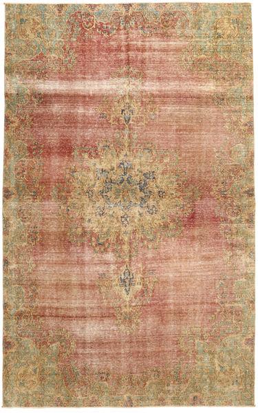 Colored Vintage Teppich  183X303 Echter Moderner Handgeknüpfter Hellbraun/Braun (Wolle, Persien/Iran)