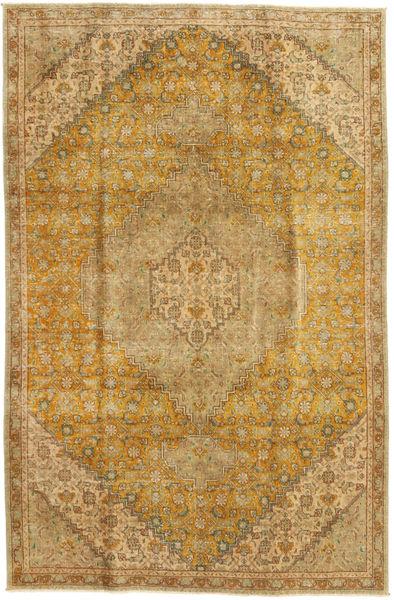 Colored Vintage Matto 164X250 Moderni Käsinsolmittu Vaaleanruskea/Tummanbeige/Ruskea (Villa, Persia/Iran)