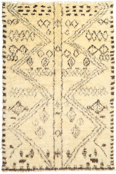 Barchi/Moroccan Berber - パキスタン 絨毯 180X273 モダン 手織り ベージュ/黄色 (ウール, パキスタン)