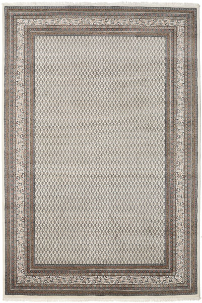 Mir インド 絨毯 252X300 オリエンタル 手織り 薄い灰色/濃いグレー 大きな (ウール, インド)