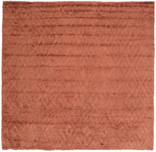Soho - Terracotta Tapijt 250X250 Modern Vierkant Lichtbruin/Roestkleur Groot (Wol, India)