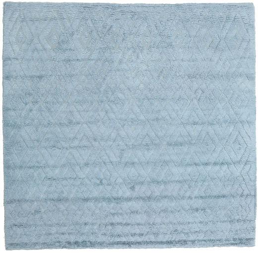 Soho Soft - Sky Blue Rug 250X250 Modern Square Light Blue Large (Wool, India)