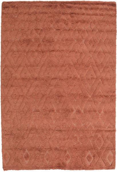 Soho Soft - Terracotta Rug 140X200 Modern Light Brown/Rust Red (Wool, India)