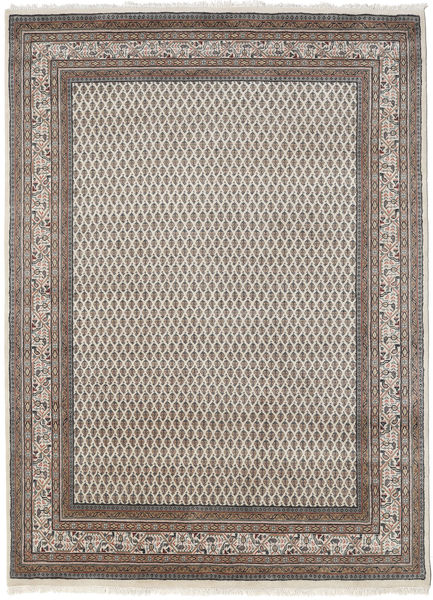 Mir Indo Rug 175X245 Authentic  Oriental Handknotted Light Brown/Dark Grey (Wool, India)