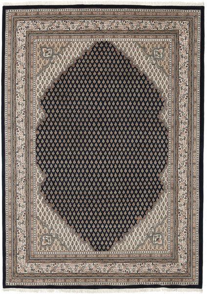 Mir Indie Dywan 199X298 Orientalny Tkany Ręcznie Jasnoszary/Czarny (Wełna, Indie)
