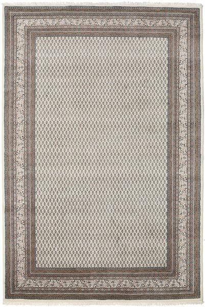 Mir Indo Rug 248X299 Authentic  Oriental Handknotted Light Grey/Dark Grey (Wool, India)