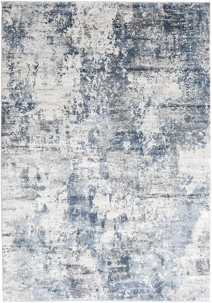 Triad - Grau/Blau Teppich  240X340 Moderner Weiß/Creme/Hellblau ( Türkei)