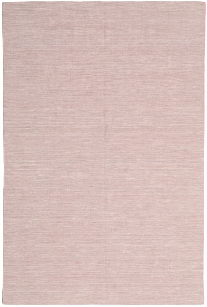 Kilim Loom - Misty Pink Rug 200X300 Authentic  Modern Handwoven Light Pink/Light Purple (Wool, India)