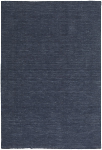 Kilim Loom - Denim Niebieski Dywan 250X350 Nowoczesny Tkany Ręcznie Ciemnoniebieski/Niebieski Duży (Wełna, Indie)