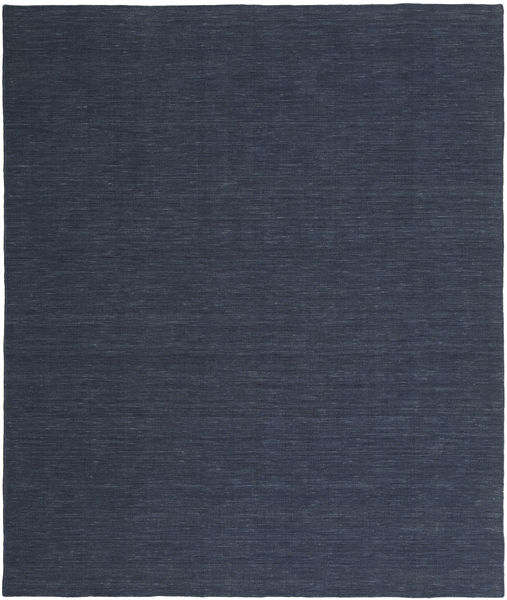 Kilim loom - Denim Blue carpet CVD21126