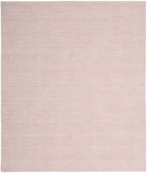 Kilim Loom - Misty Pink Rug 250X300 Authentic  Modern Handwoven Light Pink Large (Wool, India)