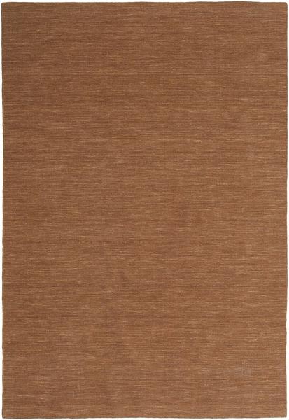 Kilim Loom - Brown Rug 300X400 Authentic  Modern Handwoven Brown Large (Wool, India)