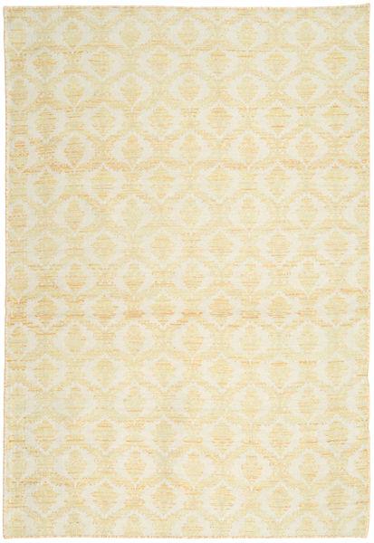 キリム 絨毯 121X177 オリエンタル 手織り ベージュ/黄色 (ウール, ペルシャ/イラン)