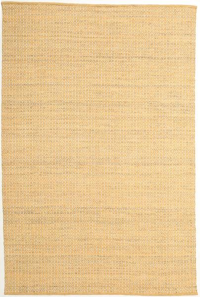 Alva - Foncé _Gold/Blanc Tapis 200X300 Moderne Tissé À La Main Beige Foncé/Marron Clair (Laine, Inde)