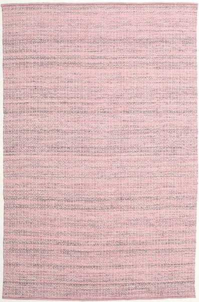 Alva - Roosa/Valkoinen Matto 200X300 Moderni Käsinkudottu Vaaleanpunainen/Beige/Vaaleanvioletti (Villa, Intia)