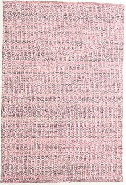 Alva - Rózsaszín/White Szőnyeg 160X230 Modern Kézi Szövésű Világos Rózsaszín/Világoslila (Gyapjú, India)