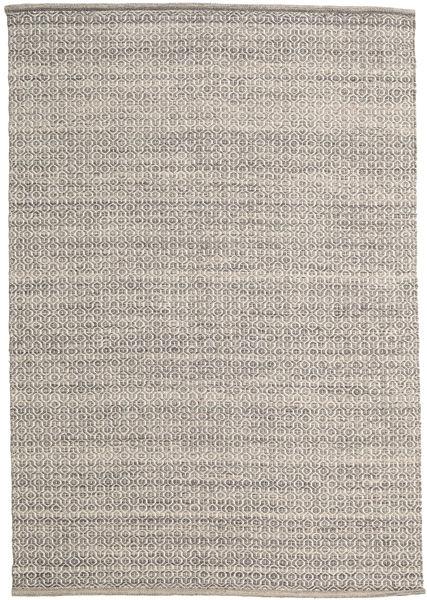 Alva - Brown/White Rug 160X230 Authentic  Modern Handwoven Light Grey/Light Brown (Wool, India)