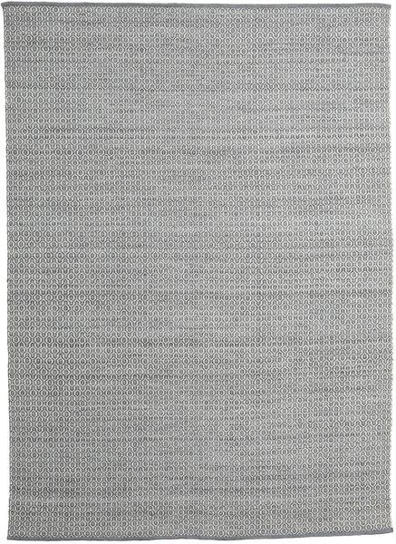 Alva - Dark Grey/White Rug 250X350 Authentic  Modern Handwoven Light Grey/Dark Grey Large (Wool, India)