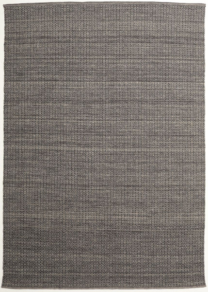 Alva - Brown/Black Rug 250X350 Authentic  Modern Handwoven Dark Grey/Light Grey Large (Wool, India)