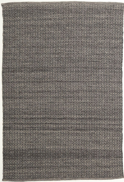 Alva - Brown/Black Rug 160X230 Authentic  Modern Handwoven Dark Grey/Light Grey (Wool, India)