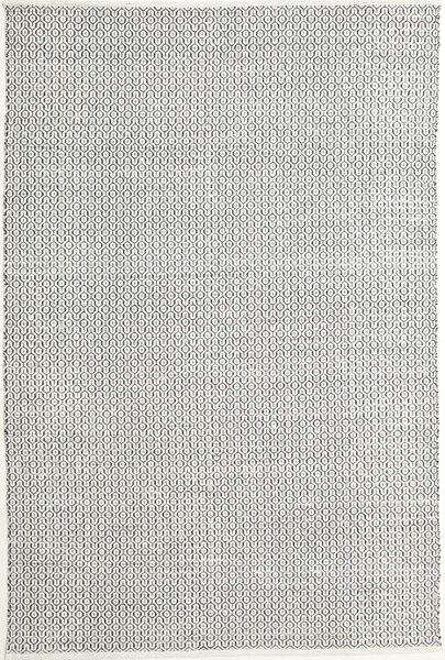Alva - Blanc/Noir Tapis 200X300 Moderne Tissé À La Main Gris Clair/Beige (Laine, Inde)