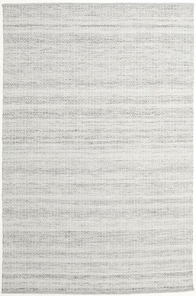 Alva - Harmaa/Valkoinen Matto 200X300 Moderni Käsinkudottu Vaaleanharmaa (Villa, Intia)