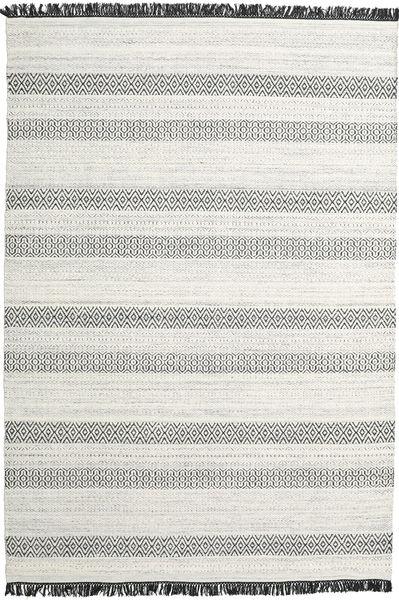 Hedda - 薄い灰色 絨毯 220X320 モダン 手織り 薄い灰色/ベージュ (ウール, インド)