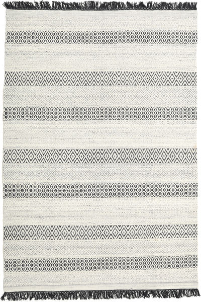 Hedda - Harmaa Matto 160X230 Moderni Käsinkudottu Beige/Tummanbeige (Villa, Intia)