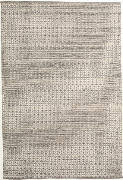 Alva - Brown/White Rug 250X350 Authentic  Modern Handwoven Light Brown/Light Grey Large (Wool, India)