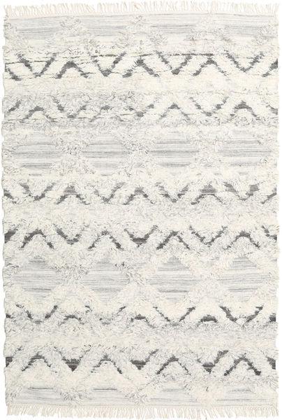 Lydia Alfombra 160X230 Moderna Tejida A Mano Beige Oscuro/Blanco/Crema (Lana, India)