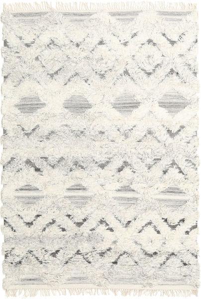 Lydia 絨毯 140X200 モダン 手織り ベージュ/暗めのベージュ色の (ウール, インド)