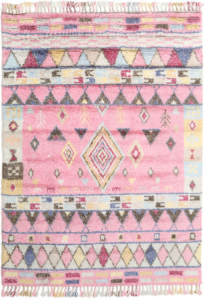 Fanny Rug 200X300 Authentic  Modern Handknotted Light Pink/Light Grey (Wool, India)