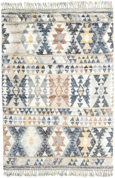 Märta - Blue Rug 200X300 Authentic  Modern Handknotted Light Grey/Beige (Wool, India)