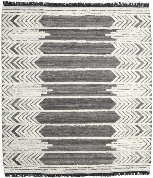 Arrow Rug 250X300 Authentic  Modern Handwoven Dark Grey/Dark Beige Large (Wool, India)