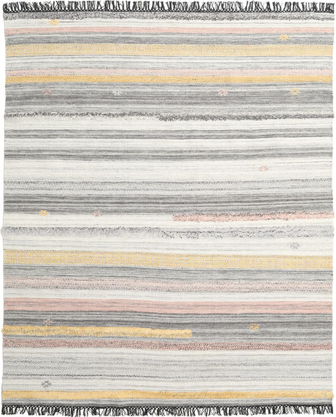 Ragna 絨毯 250X300 モダン 手織り 薄い灰色/暗めのベージュ色の 大きな (ウール, インド)