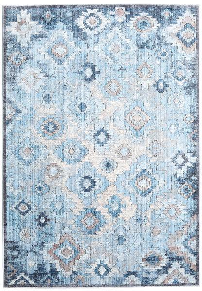 Zack Matta 160X230 Modern Ljusblå/Beige ( Turkiet)
