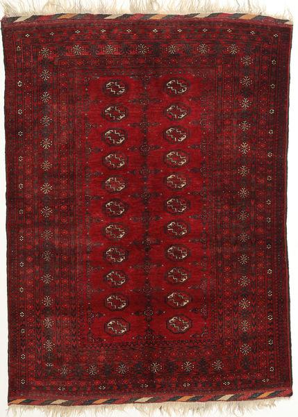 Afghan Khal Mohammadi Matto 131X182 Itämainen Käsinsolmittu Tummanpunainen/Punainen (Villa, Afganistan)