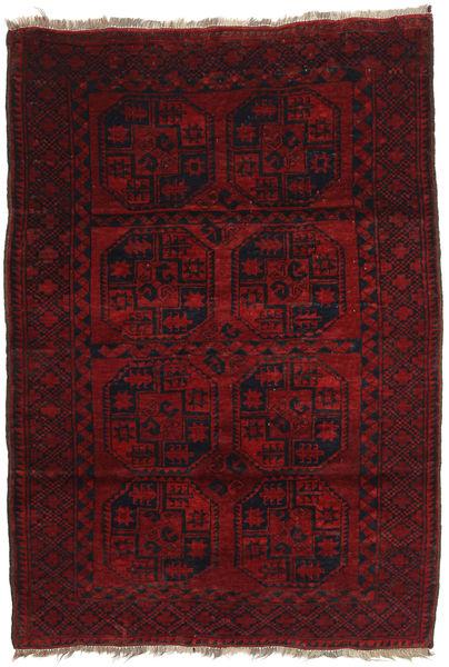 Afghan Khal Mohammadi Rug 120X173 Authentic  Oriental Handknotted Dark Red/Dark Brown (Wool, Afghanistan)
