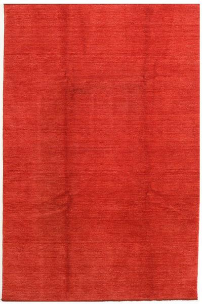 Handloom Fringes Tapis 200X300 Moderne Rouille/Rouge/Orange (Laine, Inde)