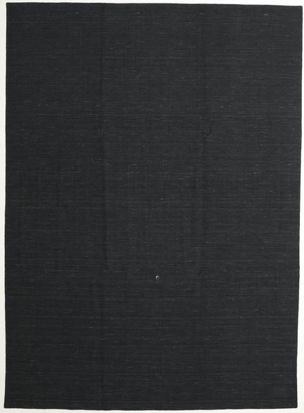 Kilim Loom - Secondary Rug 250X350 Authentic  Modern Handwoven Dark Grey Large (Wool, India)