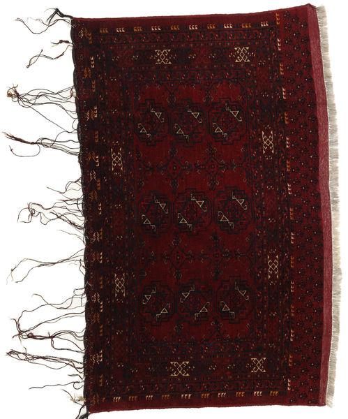Afghan Khal Mohammadi Vloerkleed 106X162 Echt Oosters Handgeknoopt Donkerbruin/Donkerrood (Wol, Afghanistan)